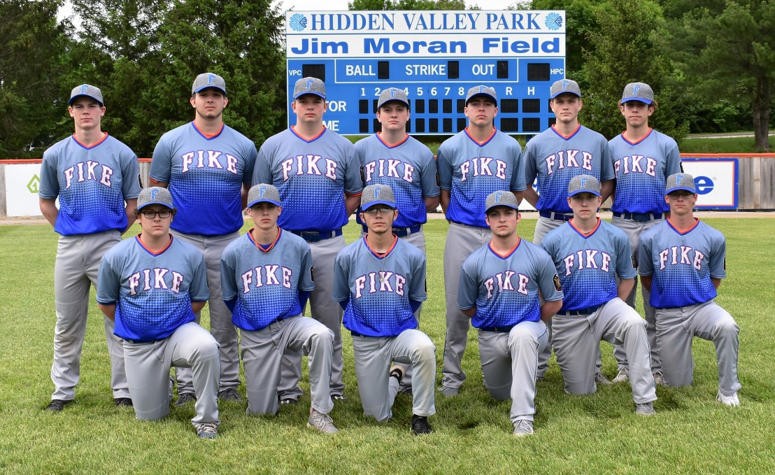 2019 Sr Fike Team Photo